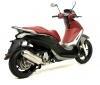 53533ST TERMINALE ARROW REFLEX PIAGGIO BEVERLY 350 + 53033MI COLLETTORE PIAGGIO BEVERLY 350